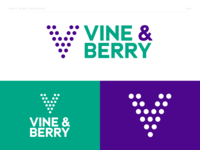 Vine & Berry - Geometric Logo - DLC:006