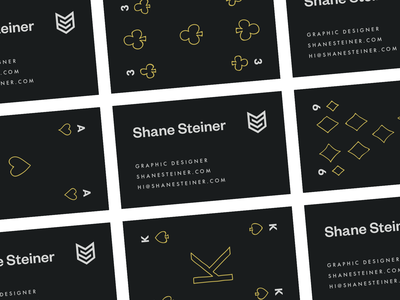 SS Personal Brand Business Cards