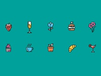 Feast and Flower Icons