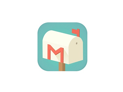 Gmail Flat icon icon flat gmail illustrator