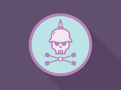 Bezier-Skull illustration t-shirt icon skull bezier