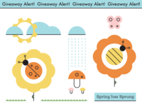 Spring Sticker Sheet Giveaway