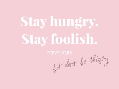 Steve Jobs Quote pink job job fair steve jobs quote