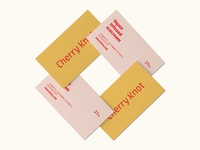 Cherry Knot Business Card