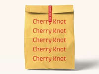 Cherry Knot Bag