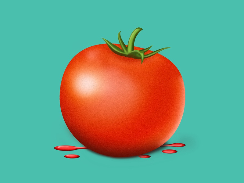 tomato 3d art photoshop red green graphicsdesign creative illustration design