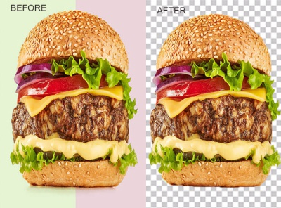 burger fresh222 content writing photoshop business card design illustration background removal