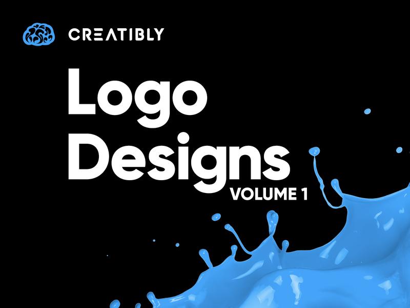 Creatibly Logo Design Portfolio - Volume 1 artificial intelligence donut coffee bistro business marijuana leadership insurance childrens book branding brand design logo design