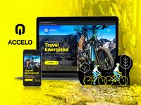 Accelo Bikes Branding and Website Design
