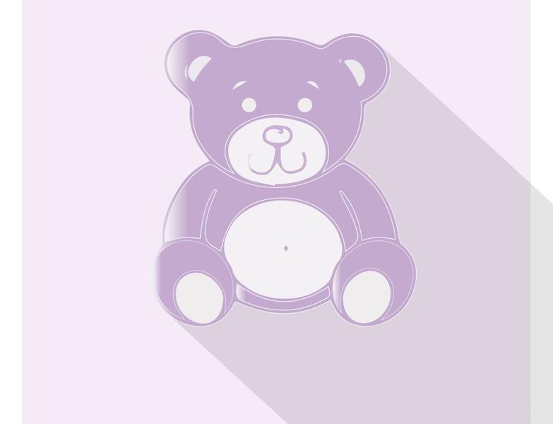 teddy vector design illustration