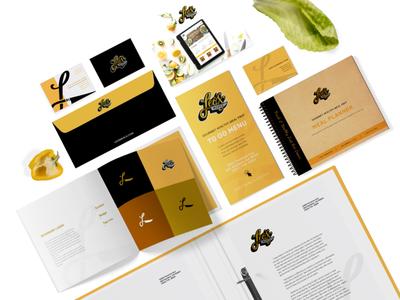 Leo's Meals Rebrand layoutdesign stationery mealprep rebrand wellness brandstyleguide socialmedia health wellnessbrand wellnessagency design branding