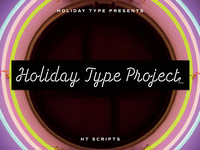 Holiday Type Project