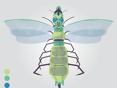 Insect vector design illustration adobe illustrator