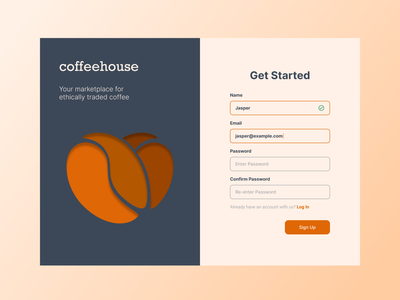 Daily UI - Sign Up design vector ui