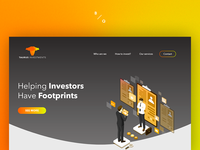 Landing Page Taurus Investments