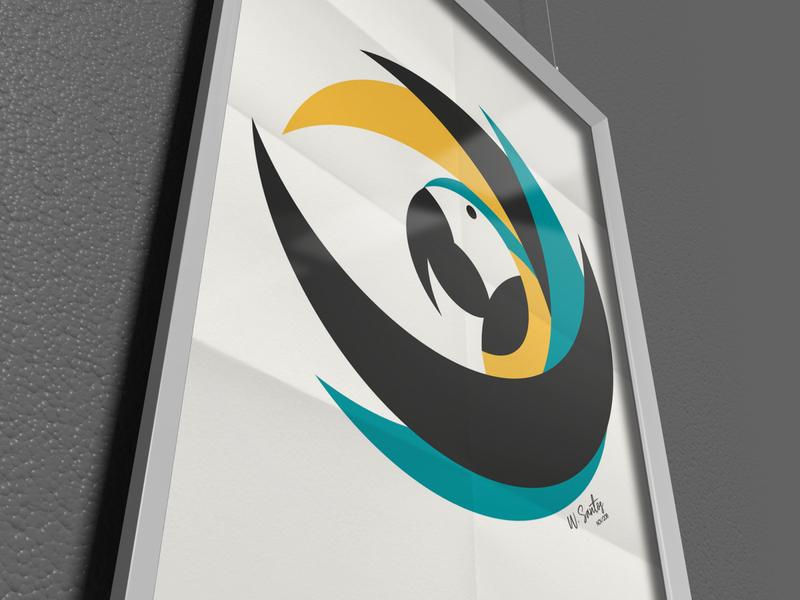 Macaw Frame eye macaw animal illustration design illustrator vector beautiful art