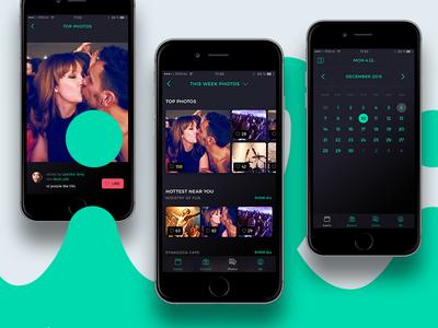 nili iOS app - bars & clubs