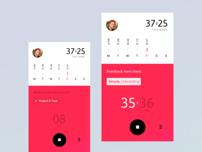 Tracking tool - ios app ui tracker track timing time stats play money ios exploration app