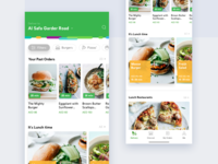 RoundMenu food -  delivery app (iOS and android)