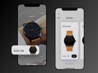 AR - Concept app (watches)