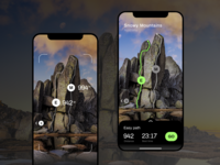 AR - Concept app (Rock Climbing)