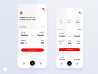 Mobile app - Home