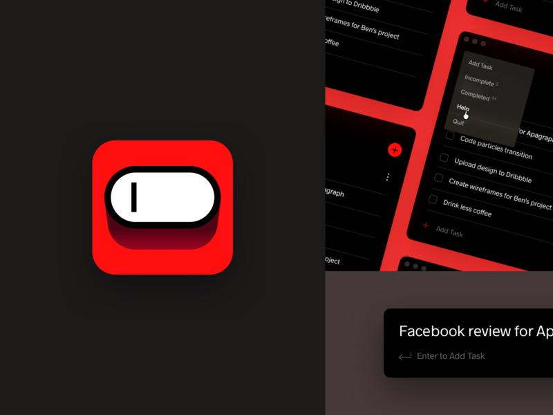 Todo App - Icon vector logo completed agenda memos tasks todo almost flat minimalism mac os icon icon design iconography simle osx icon osx desktop application mac app icon
