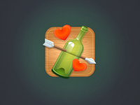Icon for a social game