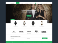 Watch Shop Frontpage