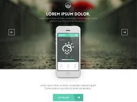 Weather App Landingpage