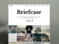 Briefcase HTML Template