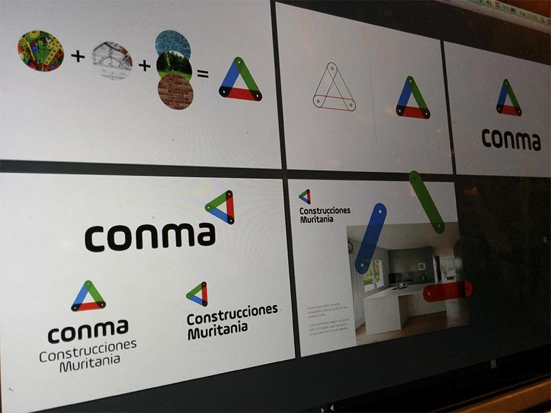 Conma Logo Exploration logo branding exploration