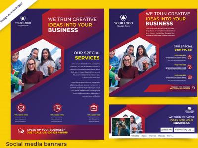 Social media banner poster design background removal flyer design creative design social media design template design business card design adobe illustrator graphic design brochure design adobe photoshop