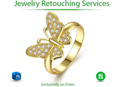 I will do high end jewelry retouch in photoshop jewelry retouching