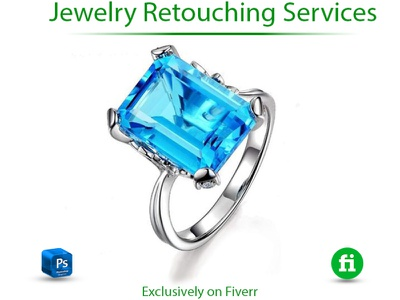 I will do high end jewelry retouch in photoshop 3d motion graphics illustrator