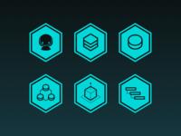 Hexagon Icons