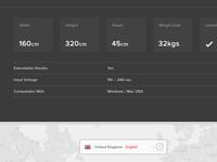 Product Specs & Language