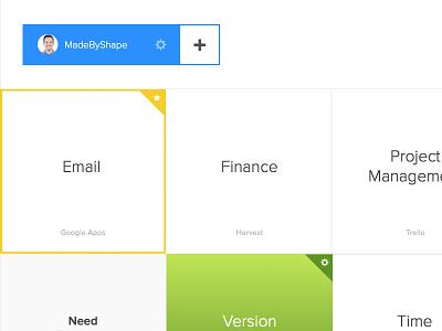 Back on Dribbble sketch typography list management app web app box