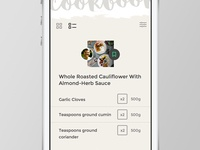 Web App - List