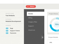 CRM Project Page