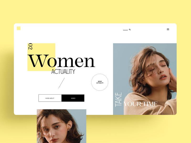 WEBDESIGN - WOMEN ACTUALITY