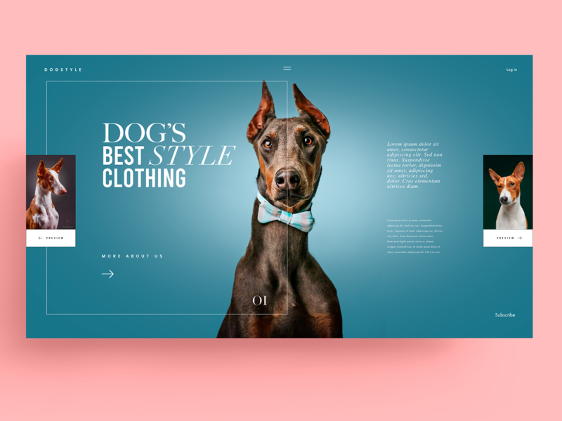 WEBSITE - DOG