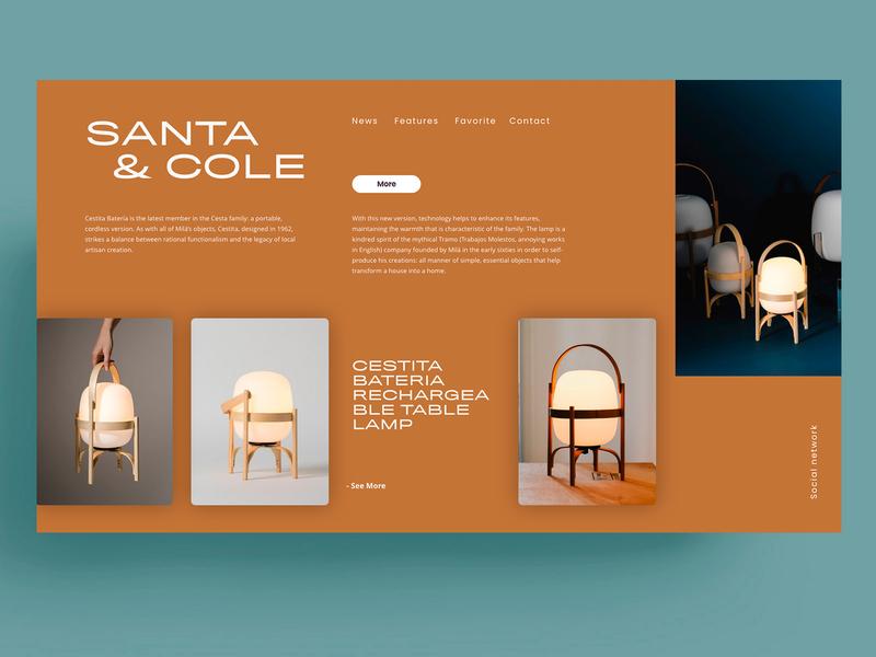 SANTA & COLE - WEBSITE