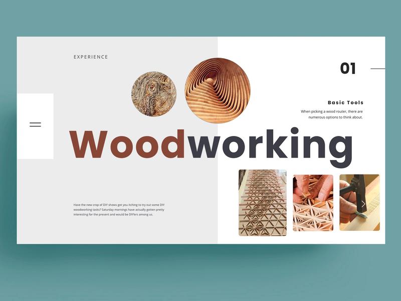 WOOD WORKING - WEBSITE