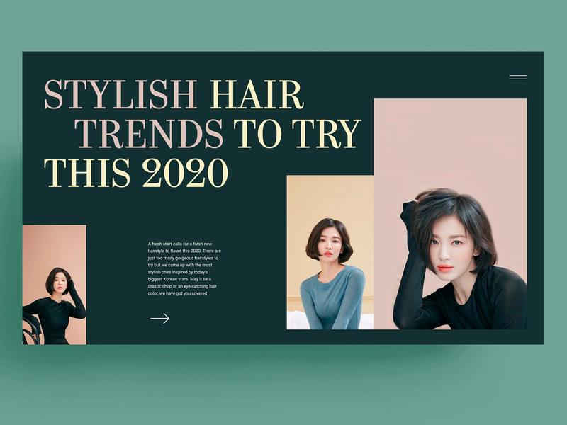 STULISH HAIR - WEBDESIGN
