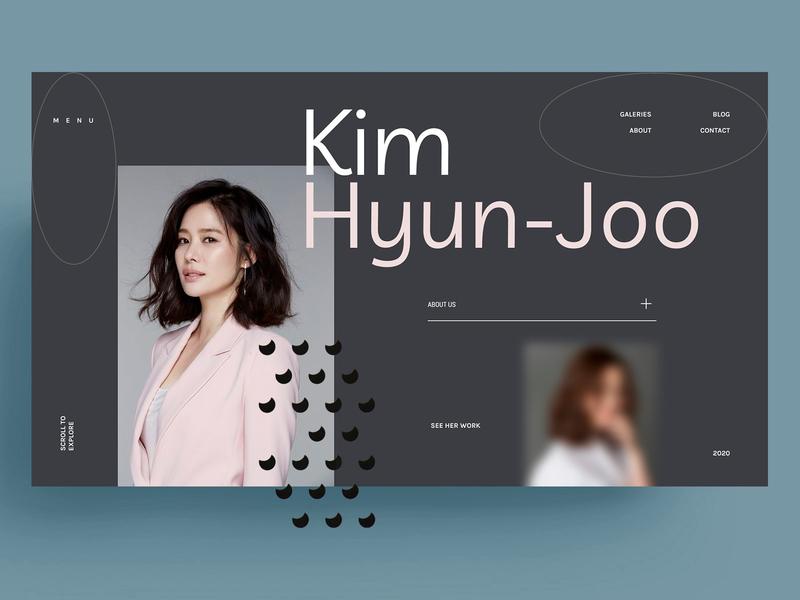 KIM HYYN-JOO - WEBSITE