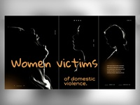 WOMEN - VICTIMS OF DOMESTIC VIOLENCE - WEBSITE web sketch xd figma victims women ui ux mark branding animal identity icon marks illustration symbol logo design