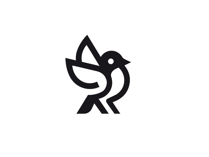 LOGO BIRD bird mark animal branding identity icon marks illustration symbol logo design