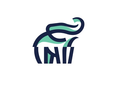 ELEPHANT -  LOGO - NEW DESIGN jungle safari elefant elephant mark animal branding identity icon marks illustration symbol logo design