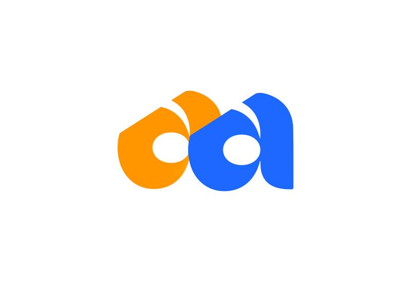 LOGO AA a mark animal branding identity icon marks illustration symbol logo design